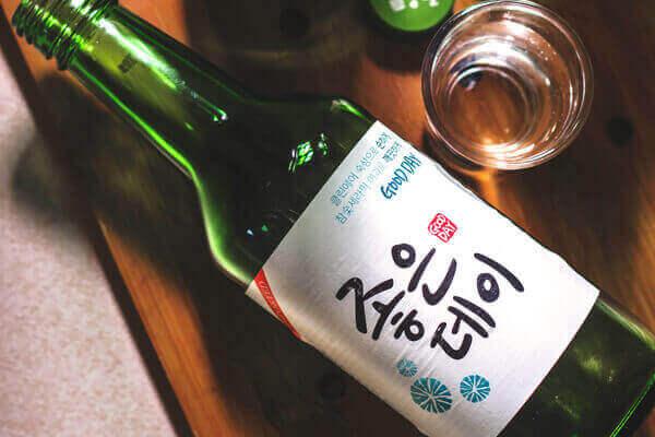 soju-flasche
