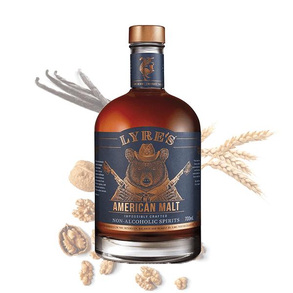 lyres american malt alkoholfreier whisky
